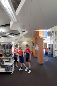 Administration Facility transformed to Library